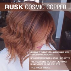 We hear copper is trending in Cali…Hair and vibes via Maria Blankevoort