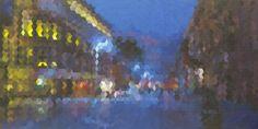 Glasgow Buchanan Street signed and titled framed print  £20.00