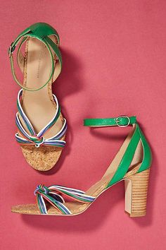 ecac92bb5 Anthropologie Summer Nights Heeled Sandals  SandalsHeels Heeled Sandals