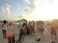 psytrance beach party ~ far rockaway NY ~ August 2012 ~ photo by v. Far Rockaway, Rockaway Beach, Beach Party, Queens, Painting, Painting Art, Paintings, Painted Canvas, Thea Queen