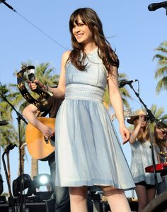 Pin for Later: Coachella Is Basically a Celebrity Paradise  Zooey Deschanel and her band She & Him were part of the 2010 lineup.