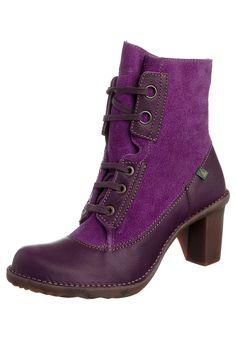 "purple El Naturalista/""victorian"" boot"