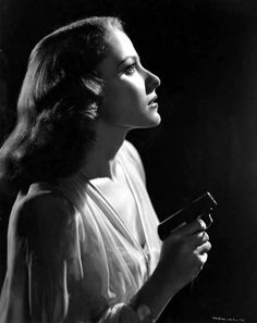 """Laraine Day in """"The Locket"""" (1946) - Laraine Day played a very evil and sick woman in this film! XLNT Movie!"""