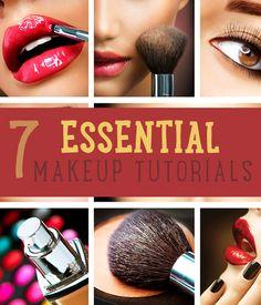 7 Essential DIY Makeup Tutorials