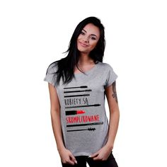 Koszulka dla niej: Kobiety są skomplikowane #tshirt #kobiety #skomplikowane #dlaniej