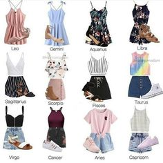zodiac signs leo ~ zodiac signs & zodiac signs outfits & zodiac signs funny & zodiac signs dates & zodiac signs leo & zodiac signs love & zodiac signs art & zodiac signs funny situations Teen Fashion Outfits, Mode Outfits, Outfits For Teens, Trendy Outfits, Girl Outfits, Zodiac Signs Sagittarius, Zodiac Star Signs, Gemini, Astrology Signs