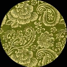 Nepalese Janaki Screenprint- GOLD ON OLIVE