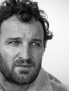 Jason Clarke.  Still trying to figure this one out.  But, he's got beautiful blue eyes.