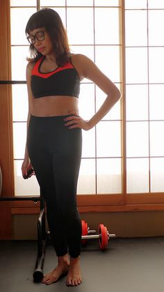Sew Sports bra and leggings | verypurpleperson