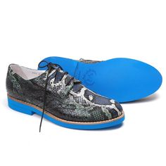 Del Toro Year of the Snake Designer Faux Python Dress Shoes
