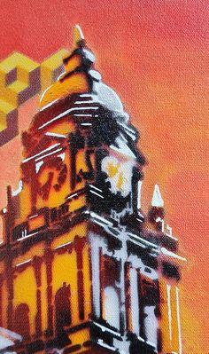 Fadiel Hermans: Lost & Found: fine art | StateoftheART South African Art, Toy Soldiers, Street Art Graffiti, Lost & Found, Canvas Size, Original Artwork, Fine Art, Gallery, Painting