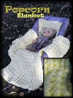 New Car Seat Blanket Crochet Pattern - Yarn & Hook