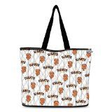 San Francisco Giants Quilted Tote Bag With 2 Free Matching Cosmetic Cases by The Bradford Exchange
