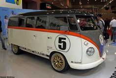 2nd fast VW Bus find of day. RaceJar