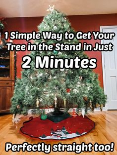 Find out how to get your Christmas tree in the stand WAY easier than what you're currently using! Live Christmas Trees, All Things Christmas, Krinner Tree Stand, Favorite Holiday, You Got This, I Am Awesome, How To Get, Holiday Decor, Simple