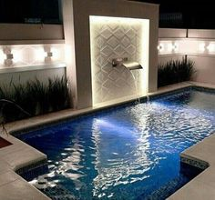 99 Adorable Small Indoor Swimming Pool Design Ideas – 99 Adorable Little Indoor Pool Design Ideas Swimming Pool Landscaping, Small Swimming Pools, Luxury Swimming Pools, Small Backyard Pools, Backyard Pool Designs, Luxury Pools, Small Pools, Dream Pools, Swimming Pool Designs