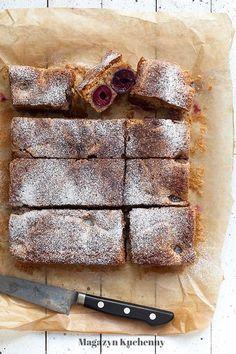 Cherry cake with spelt flour | Ciasto z czereśniami na pełnoziarnistej mące orkiszowej Sweet, Inspiration, Food, Biblical Inspiration, Meal, Essen, Hoods, Meals, Eten