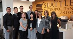 Another cool partner photo, this time with Autoland Consultant Manny (far left) and the Seattle Metropolitan Credit Union Northgate team!