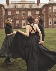 Gentlemans Club, Bridal Party Dresses, Bridesmaid Dresses, Wedding Dresses, Lady Sybil, Lady Mary Crawley, Edith Crawley, Laura Carmichael, Dowager Countess