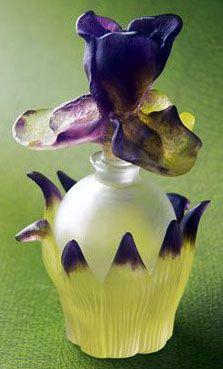Flacon de Parfum 'Iris' - Daum