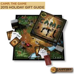 Camp Board Game | $24.99 | #HolidayGiftGuide