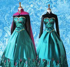 Movies Frozen Snow Queen Elsa Cosplay Costume Dress tailor handmade custom made Elsa Cosplay, Frozen Cosplay, Loki Costume, Costume Dress, Frozen Snow Queen, Elsa Outfit, Elsa Coronation, Halloween Suits, Disney Princesses And Princes