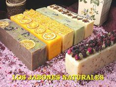 LOS JABONES NATURALES (historia y tipos de jabones y para que sirven)