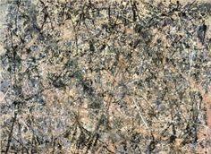 Jackson Pollock, Lavender mist, 1950
