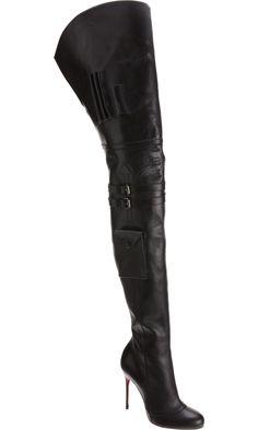 $186.99 Dresswe.com SUPPLIES Gorgeous Black  Stiletto Heels Women Boots wow