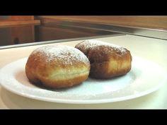 Пончики с повидлом видео рецепт ( Donuts with jam) English subtitles