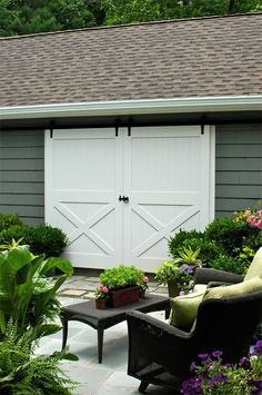 Barn doors- want these for our garage