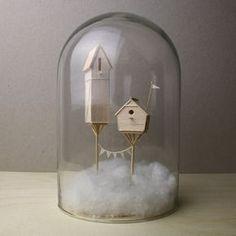 Les Sculptures miniatures narratives de Balsa de Vera van Wolferen (2)