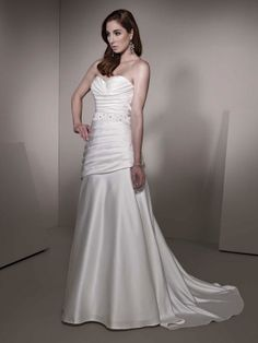 This looks like a beautiful style for my body type. My prom and Pageant dresses were very similar and very flattering.