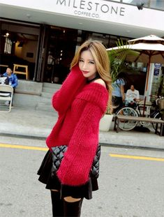 Fluffy Sweater, Angora Sweater, Turtleneck, Kim Seuk Hye, Gros Pull Mohair, Cute Blouses, Hot Outfits, Girls Sweaters, Sexy Asian Girls