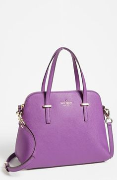 Kate Spade Cedar Street Maise Satchel in Purple (African Violet) Kate  Spade b956e4723120f