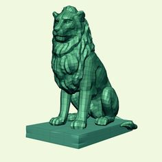Stone Lion 7 Model available on Turbo Squid, the world's leading provider of digital models for visualization, films, television, and games. Paper Mache Animals, Stone Lion, Leo Zodiac, Character Modeling, Lions, Lion Sculpture, Statue, 3d, Decor