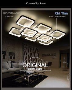 Затемнения современные светодиодные люстры светильники для гостиной спальня детская комната для поверхностного монтажа led домой крытый потолка люстра, лампа купить на AliExpress