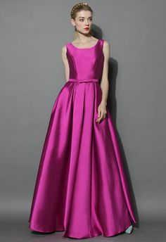 Glamorous Backless Maxi Prom Dress in Violet - Dress - Retro, Indie and Unique Fashion