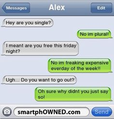 How not to ask a girl out