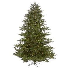 Spruce Christmas Tree, Pre Lit Christmas Tree, Christmas Greenery, Christmas Store, Holiday Ornaments, Fox Decor, Garden Decor Items, Artificial Tree, White Led Lights