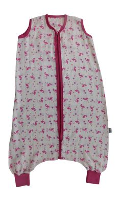 Summer Muslin Bamboo Sleeping Bag with Feet Flamingo is super-soft and  gentle against baby s 8734f0b41