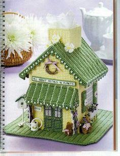 Flower Shop Tissue Box Cover 1/7