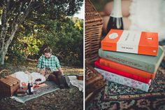 Picnic By The Sea by Trigger Happy Images