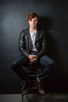 Evan Peters on Why Hotel Is American Horror Story's Scariest Season Yet | Details. Talks about  Matt