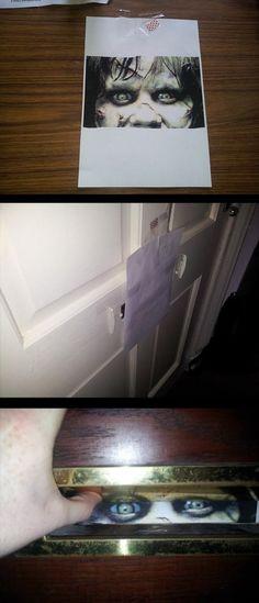 Une petite blague à faire chez vous.