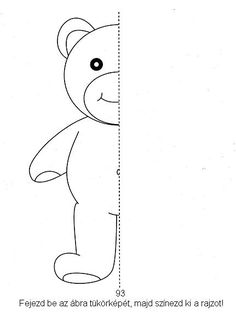Fejlesztő Műhely: Feladatlapok Teddy Bear Toys, Busy Book, Forest Animals, Drawing For Kids, Girls Be Like, Kids Education, School Projects, Diy Crafts For Kids, Coloring Pages