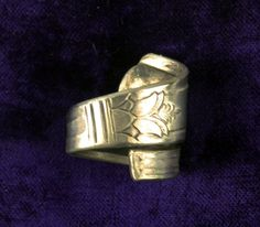 Handmade Spoon Ring From Vintage Spoon Silver by AeryckdeSade, $15.00