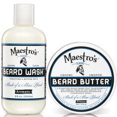 Mark of a Man Blend Set Beard Wash Beard Butter
