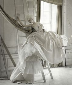'Lady Grey' photographed by Tim Walker for Vogue Italia March 2010