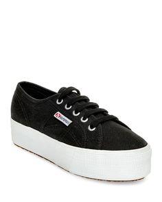 3de94285e14053 Superga Lace Up Platform Sneakers Platform Sneakers